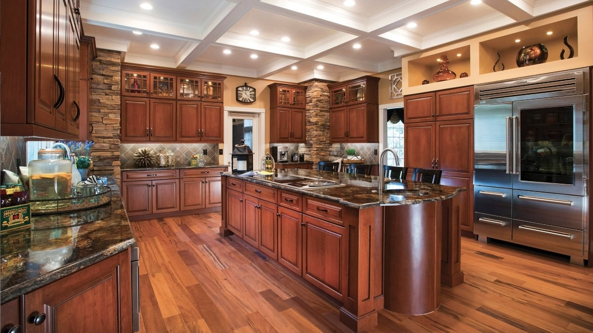 Saw Island CT Kitchen Remodeling